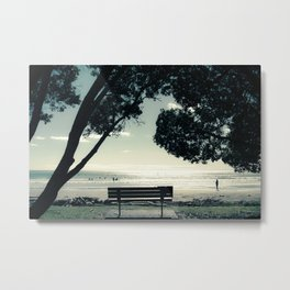 West End Swim Metal Print