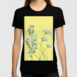 My Kentucky Wild Flowers, Queen Anne Lace and Flax T-shirt