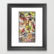 PLANET 6 Framed Art Print