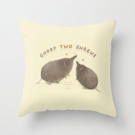 Goody Two Shrews Throw Pillow