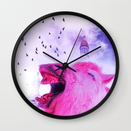 Surreal pov Wall Clock
