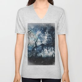 Into the Darkness Unisex V-Neck