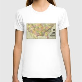 Great Kennesaw Route Map (1890) T-shirt
