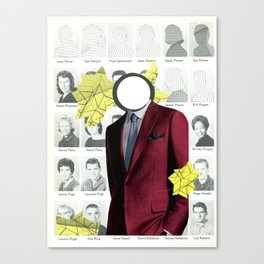 Yearbook Canvas Print