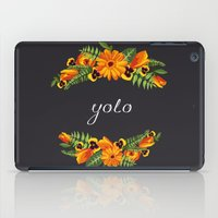 wwe iPad Cases featuring Yolo by eARTh