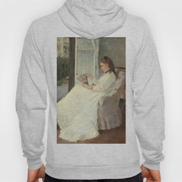 The Artist's Sister at a Window by Berthe Morisot Hoody