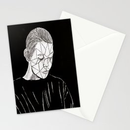Just a Crack Stationery Cards
