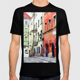 Medieval Street Passau Germany T-shirt