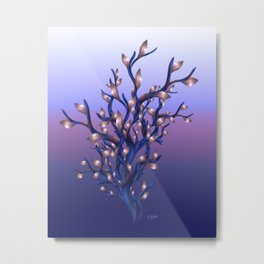 The Resolutions Tree at Dawn Metal Print
