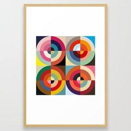 4 Seasons Framed Art Print