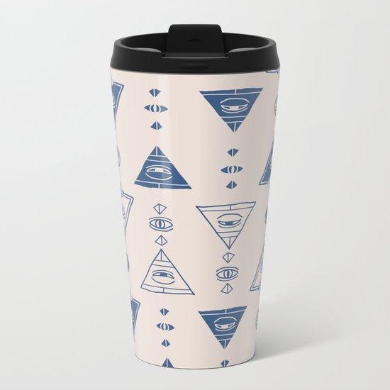 Seeing (Light) Metal Travel Mug