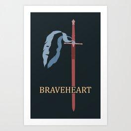 Brave ol' Freedom Art Print