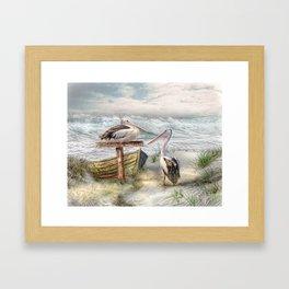 Pelican Point Framed Art Print