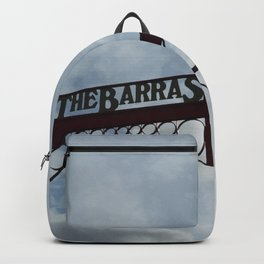 Scottish Photography Series (Vectorized)  - The Barras Market #1 Backpack