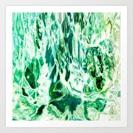 491 - Abstract Water design Art Print