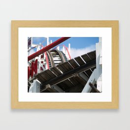 Brooklyn: The Cyclone Framed Art Print