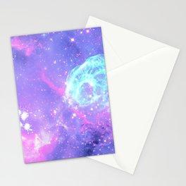 Pastel Galaxy Stationery Cards