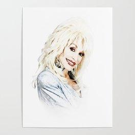 Dolly Parton - Pop Art Poster