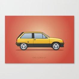 Opel Corsa GT / Vauxhall Nova / Chevrolet Barina / Holden Barina 1982 Canvas Print
