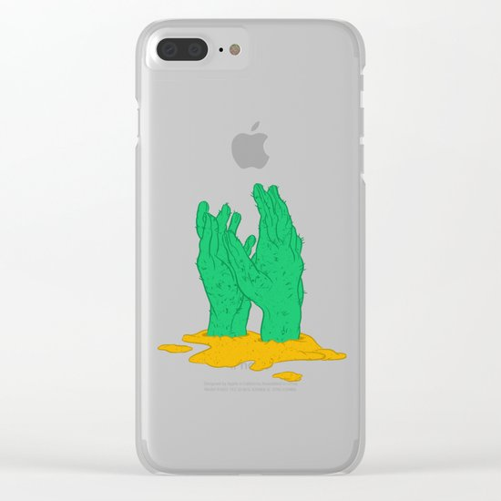 The hot grasp of the summer Clear iPhone Case