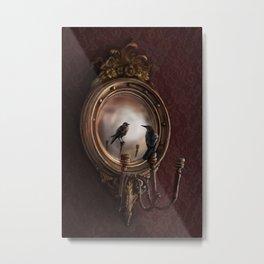 Brooke Figer - Reflection on Perception Metal Print