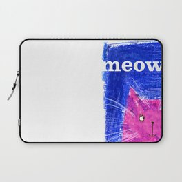 Crayon Cat Laptop Sleeve