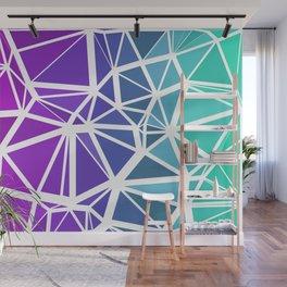 Low Poly Jewel Tones Gradient Wall Mural