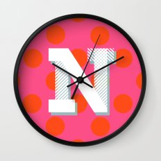 N is for Nice Wall Clock