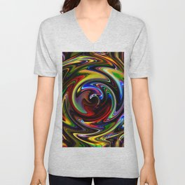 Abstract Perfection 54 Unisex V-Neck