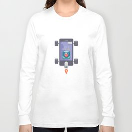 "Creative Drive - ""UI Designer Car"" Long Sleeve T-shirt"