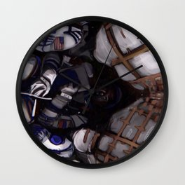 Astronauts from international space station Wall Clock