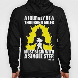 A Journey Of A Thousand Miles (Goku) Hoody