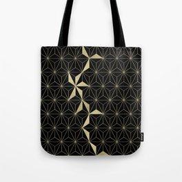 Gold Flower Geo Glam #1 #geometric #decor #art #society6 Tote Bag