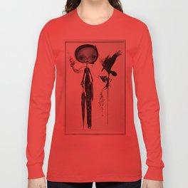 gothic kebaya Long Sleeve T-shirt