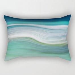 OCEAN ABSTRACT Rectangular Pillow
