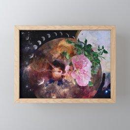 Inner child Framed Mini Art Print