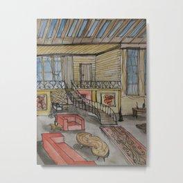 Interior Metal Print