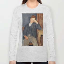 The Young Apprentice, Amedeo Modigliani Long Sleeve T-shirt