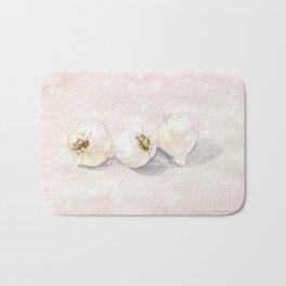 Garlic Watercolor Bath Mat