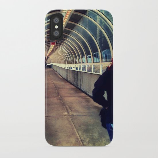Onward Into The Tunnel Forbidden  iPhone Case