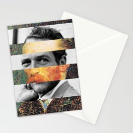 Van Gogh's Self Portrait & Paul Newman Stationery Cards