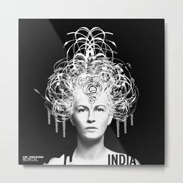 INDIA | OPERA Metal Print