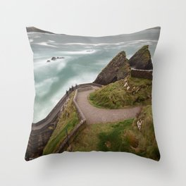 Dunquin Pier,Kerry,Ireland Throw Pillow