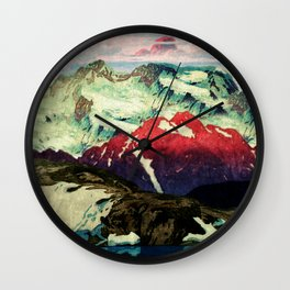 Winter in Keiisino Wall Clock