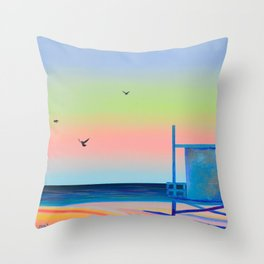 Candy Sky Throw Pillow