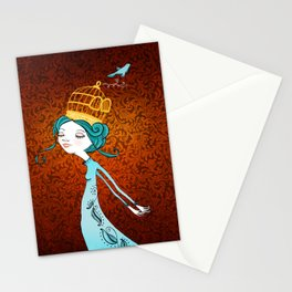 If You Love It, Set It Free Stationery Cards