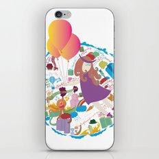 Ambrosia with balloon iPhone & iPod Skin