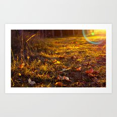 When september end Art Print