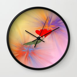 Together giving ONE shadow .. Wall Clock