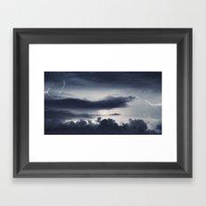 Cloud to Cloud Framed Art Print